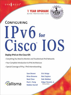 cover image of Configuring IPv6 For Cisco IOS
