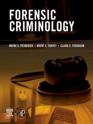cover image of Forensic Criminology