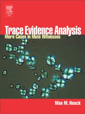 cover image of Trace Evidence Analysis