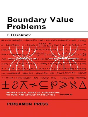 cover image of Boundary Value Problems