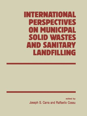 cover image of International Perspectives on Municipal Solid Wastes and Sanitary Landfilling