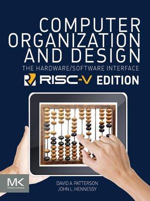 computer organization and design patterson pdf