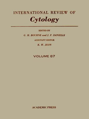cover image of International Review of Cytology, Volume 87