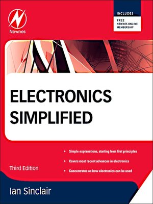 cover image of Electronics Simplified