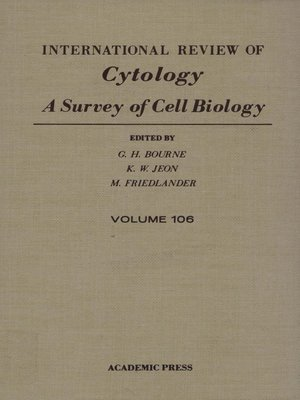 cover image of International Review of Cytology, Volume 106