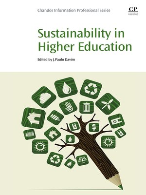 cover image of Sustainability in Higher Education