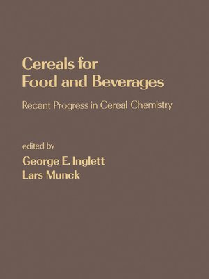 cover image of Cereals for Food and Beverages