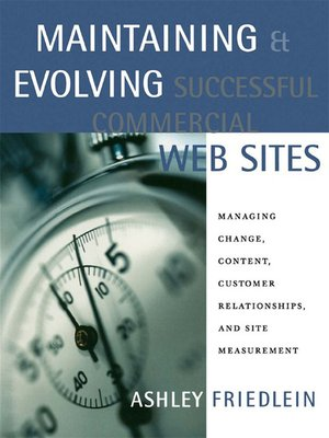cover image of Maintaining and Evolving Successful Commercial Web Sites