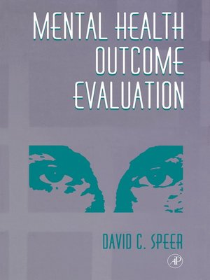 cover image of Mental Health Outcome Evaluation