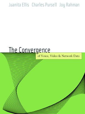 cover image of Voice, Video, and Data Network Convergence