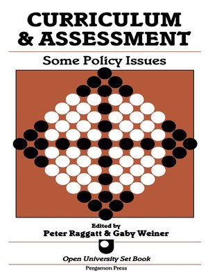 cover image of Curriculum & Assessment