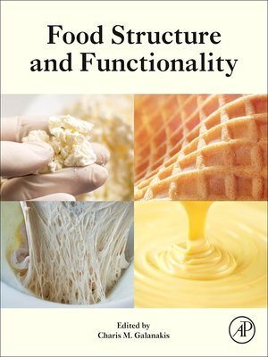 cover image of Food Structure and Functionality