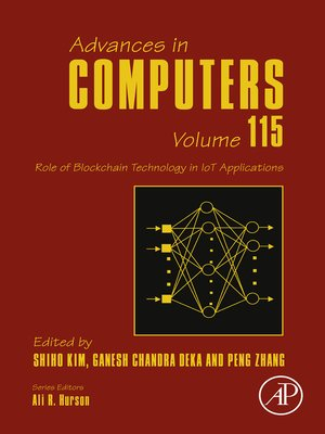 cover image of Role of Blockchain Technology in IoT Applications