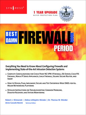 cover image of The Best Damn Firewall Book Period