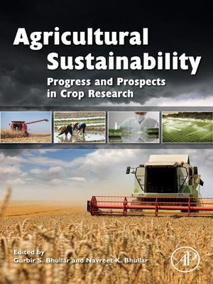 cover image of Agricultural Sustainability