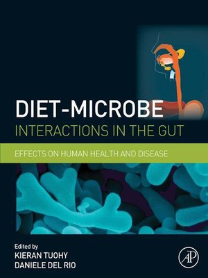 cover image of Diet-Microbe Interactions in the Gut