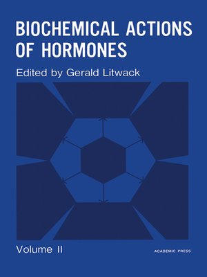 cover image of Biochemical Actions of Hormones, Volume 2