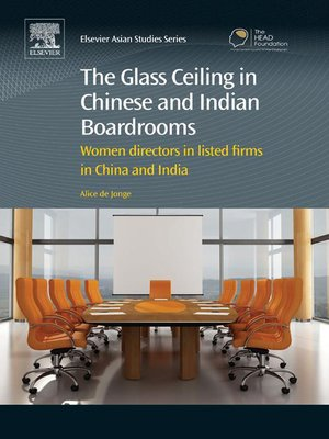 cover image of The Glass Ceiling in Chinese and Indian Boardrooms
