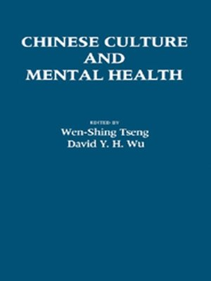 cover image of Chinese Culture and Mental Health