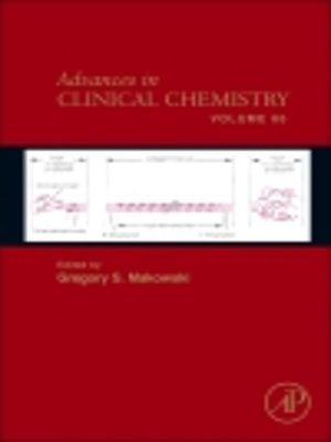 cover image of Advances in Clinical Chemistry