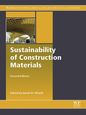 cover image of Sustainability of Construction Materials