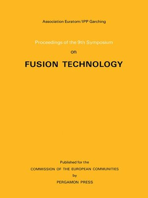 cover image of Proceedings of the 9th Symposium on Fusion Technology