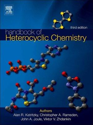 cover image of Handbook of Heterocyclic Chemistry