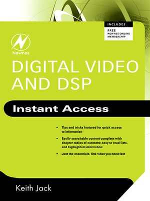 cover image of Digital Video and DSP