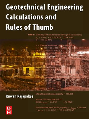 Budhu soil mechanics and foundations solution manual oversbooks cover image of geotechnical engineering calculations and rules of thumb fandeluxe Image collections