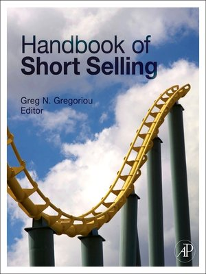 cover image of Handbook of Short Selling