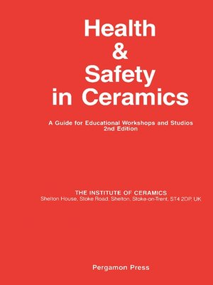 cover image of Health and Safety in Ceramics