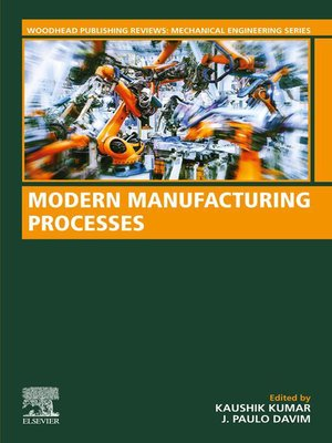 cover image of Modern Manufacturing Processes