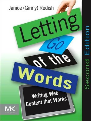 cover image of Letting Go of the Words