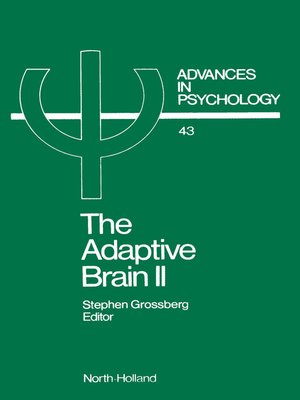 cover image of The Adaptive Brain II