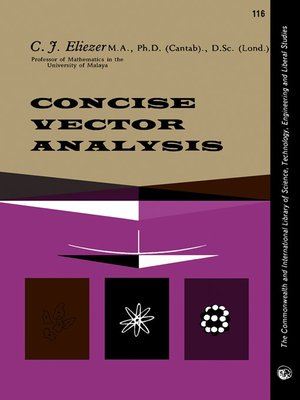 cover image of Concise Vector Analysis