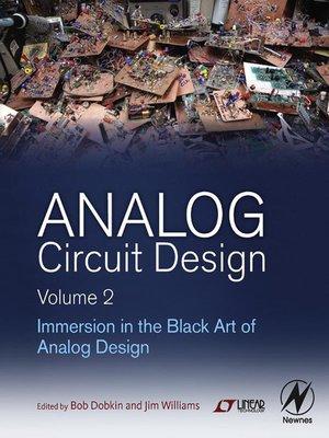 cover image of Analog Circuit Design Volume 2