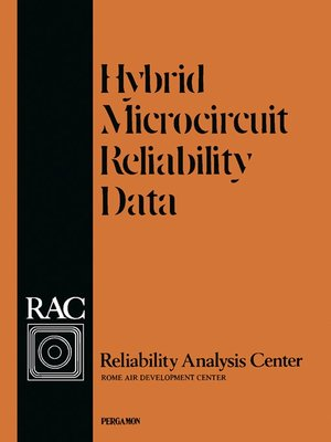 cover image of Hybrid Microcircuit Reliability Data