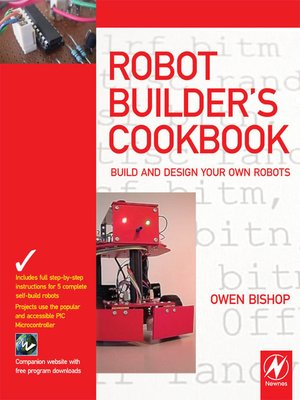 cover image of Robot Builder's Cookbook