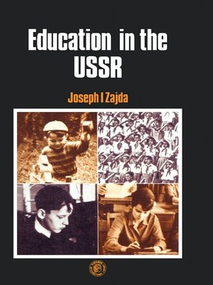 cover image of Education in the USSR