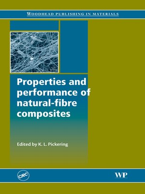 cover image of Properties and Performance of Natural-Fibre Composites