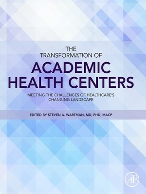 cover image of The Transformation of Academic Health Centers