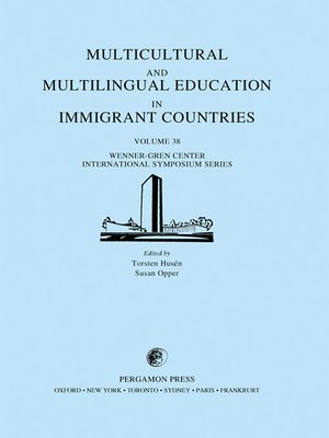 cover image of Multicultural and Multilingual Education in Immigrant Countries