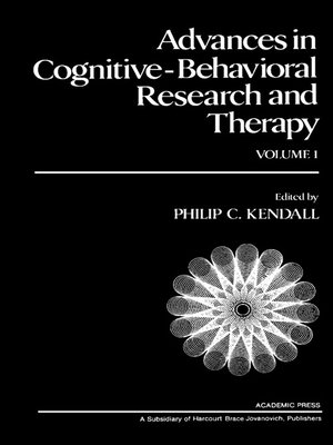 cover image of Advances in Cognitive—Behavioral Research and Therapy, Volume 1