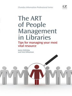 cover image of The Art of People Management in Libraries