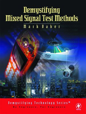cover image of Demystifying Mixed Signal Test Methods