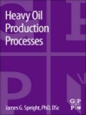 cover image of Heavy Oil Production Processes