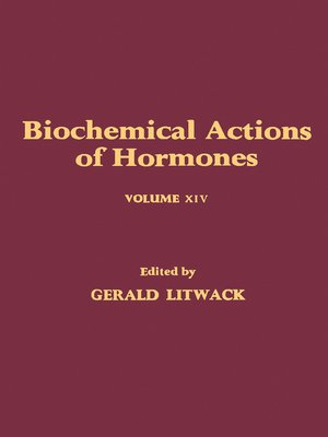 cover image of Biochemical Actions of Hormones, Volume 14