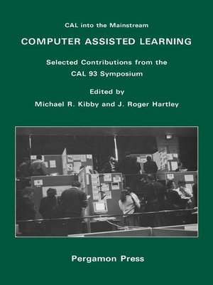 cover image of Computer Assisted Learning