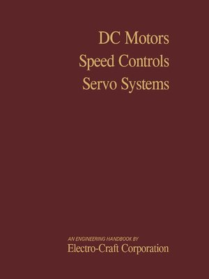 cover image of DC Motors, Speed Controls, Servo Systems