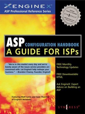 cover image of ASP Configuration Handbook